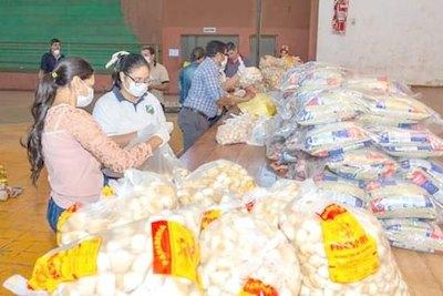 Entregan 3.000 kits solidarios en Cambyretá