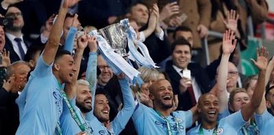 El Manchester City alzó la League Cup
