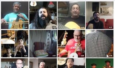 El folclore hispano se une para cantar desde casa contra el coronavirus