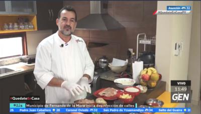"HOY / Cesár Villalba ""El Cocinero"" nos enseña a preparar platos económicos para estos días de aislamiento"