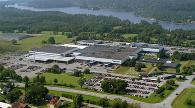 La planta de buses Volvo en Suecia solo utiliza energía renovable