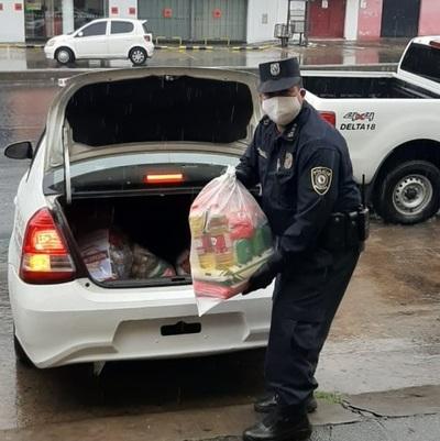 Fiscalía entrega donación de kits de alimentos e insumos que irán a 24 Comisarías de Asunción