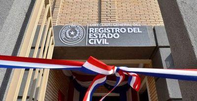 Registro Civil garantiza servicios de carácter urgente