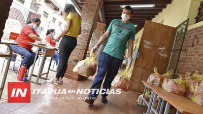 MERIENDA ESCOLAR Y COMPLEMENTO NUTRICIONAL SE ENTREGAN EN 653 ESCUELAS DE ITAPÚA.