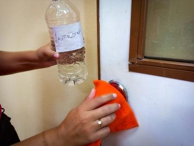 ¿Por qué es importante la desinfección de superficies y áreas comunes?