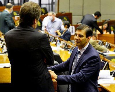 "Reforma del Estado: proyecto no se trató por falta de consenso, dice ""Beto"" Ovelar"
