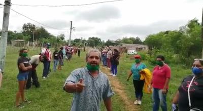 Familias de Itauguá reclaman asistencia del Estado