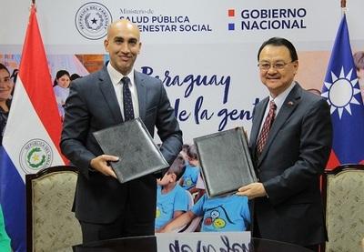 Taiwán donó USD 3.2 millones a Paraguay para fortalecer su servicio de salud