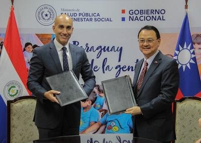 Salud Pública recibe millonaria donación de la República China (Taiwán)
