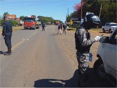 Ciudadanos siguen violando la cuarentena en Caaguazú
