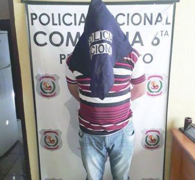 Celoso golpeó a su mujer luego de revisarle el celular