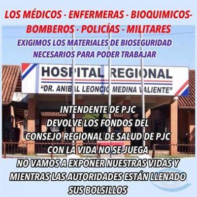 Ante inacción del Dr. Collar la ciudadanía pide cambios en la XIII Región Sanitaria