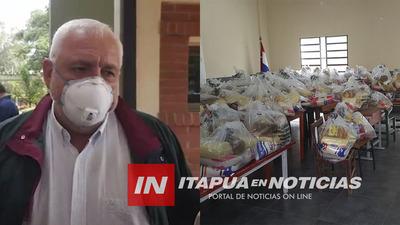 GOBERNADOR CRITICA QUE CONCEJAL INTENTÓ HACER CAMPAÑA CON LOS KITS ALIMENTARIOS