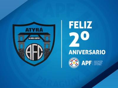 Atyrá F.C. cumple dos años de vida