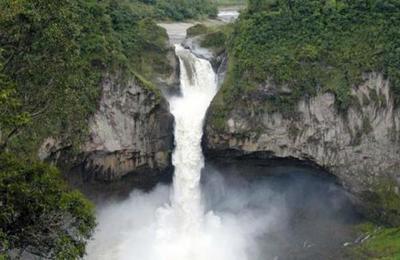 El misterio de la cascada más grande de Ecuador que desapareció de un día para otro