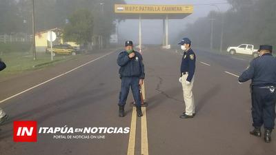 NUEVO PUESTO DE CONTROL SANITARIO EN TRINIDAD Y CORONEL BOGADO.