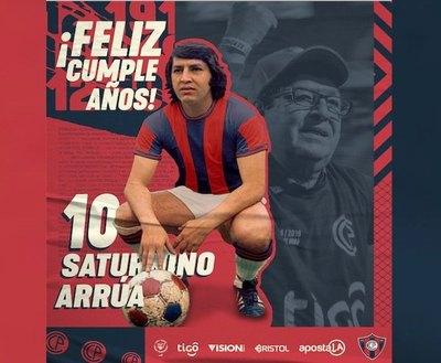Cerro se acordó de su gran ídolo: Nino