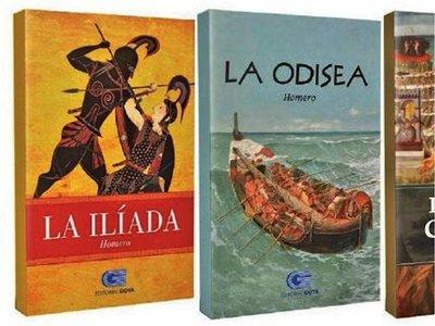Colección de clásicos y libro sobre el paraguayo con ÚH