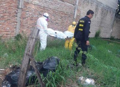 Hallan muerto a indigente en baldío del barrio San Pablo