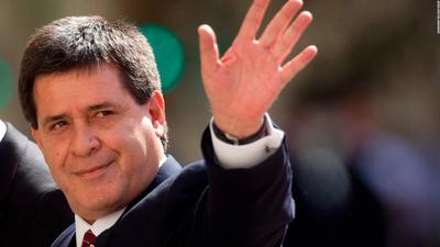Fiscalía brasileña afirma que no hay pruebas contra Cartes en causa de lavado de dinero