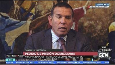 HOY / Virgina Napout, Hermana de Juan Ángel Napout, sobre la solicitud de prisión domiciliaria para el ex dirigente deportivo