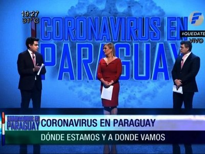 Coronavirus en Paraguay se  emitirá de nuevo el  domingo