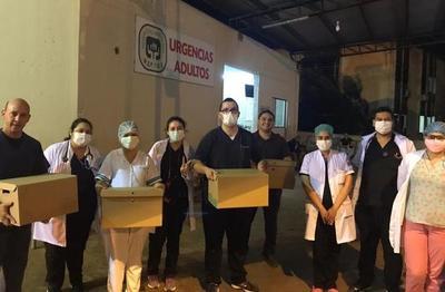 #UnaBaconParaUnHeroe ya entregó más de 2000 hamburguesas al personal de blanco