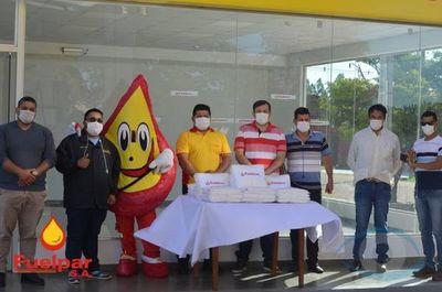Empresa entrega atuendos de bioseguridad al Hospital Regional