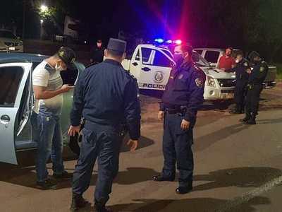 Otro demorado en control policial en J. E. Estigarríbia