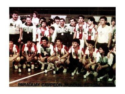 Fútbol de salón: La hazaña del 88