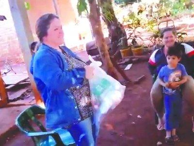 Yuyera solidaria asiste a familias humildes