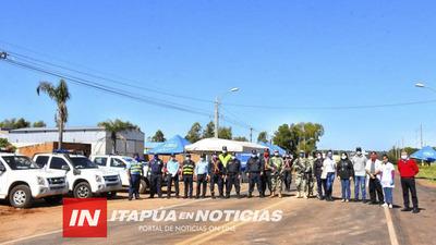 INCAUTAN RODADO POLICIAL Y MÁS DE 11 APREHENDIDOS DURANTE CONTROLES SANITARIOS.