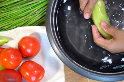 Sepa como desinfectar las frutas y las verduras
