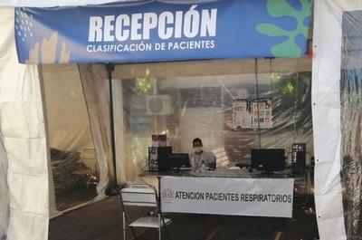 El Hospital Barrio Obrero cuenta con área exclusiva para atención respiratoria