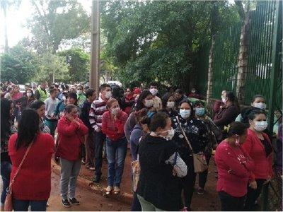 En Alto Paraná exigen víveres para continuar ollas populares