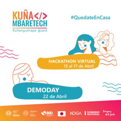 Hackathon Kuña Mbaretech será este miércoles de forma virtual