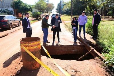 """Intendente de CDE mantiene a """"RECAUDADORES"""" en la comuna"""