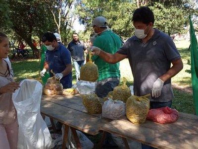 Covid-19: FNC dona 11.500 kilos de alimentos a familias afectadas