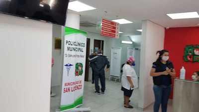 Vacuna contra influenza en San Lorenzo