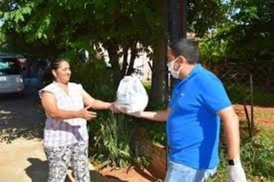 Fabrican leche y panificados para familias vulnerables en la Municipalidad de Villa Elisa