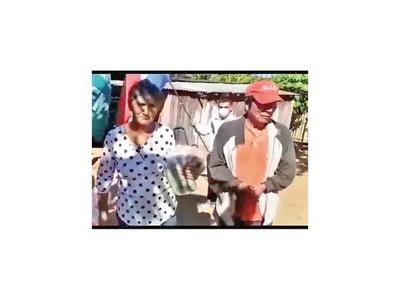 Federación Campesina asiste a labriegos entregando víveres