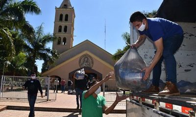 Más de 70.000 Kg de alimentos distribuidos en localidades de Alto Paraná