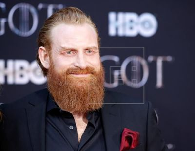 "Kristofer Hivju, de ""Game of Thrones"", recuperado del coronavirus"