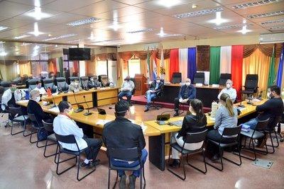 COMITÉ DE OPERACIONES DE EMERGENCIA DE ITAPÚA PRESENTA INFORME A LA JUNTA DEPARTAMENTAL