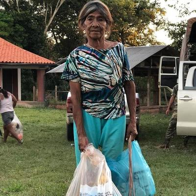 Entregaron más de 14.000 kits de alimentos a comunidades indígenas de la Región Oriental
