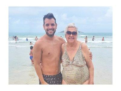 Oscarcito se quebró al recordar a su abuela
