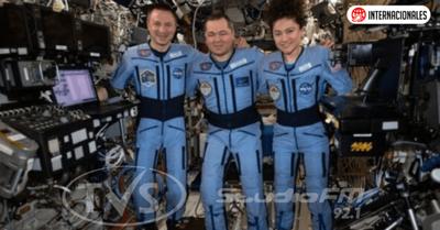 Coronavirus: los astronautas que acaban de regresar a una Tierra muy diferente a la que dejaron