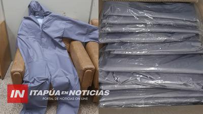 LLEGAN EQUIPOS DE PROTECCIÓN PARA POLICÍAS DE ITAPÚA.