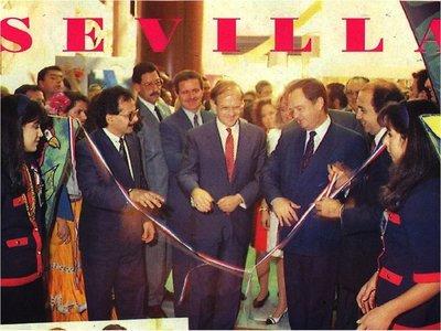 A 28 años de la presencia paraguaya en Sevilla 92