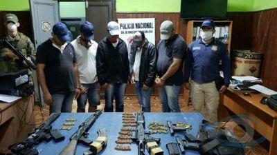 Policía revela que los cinco sicarios de Samura están involucrados en cinco atentados